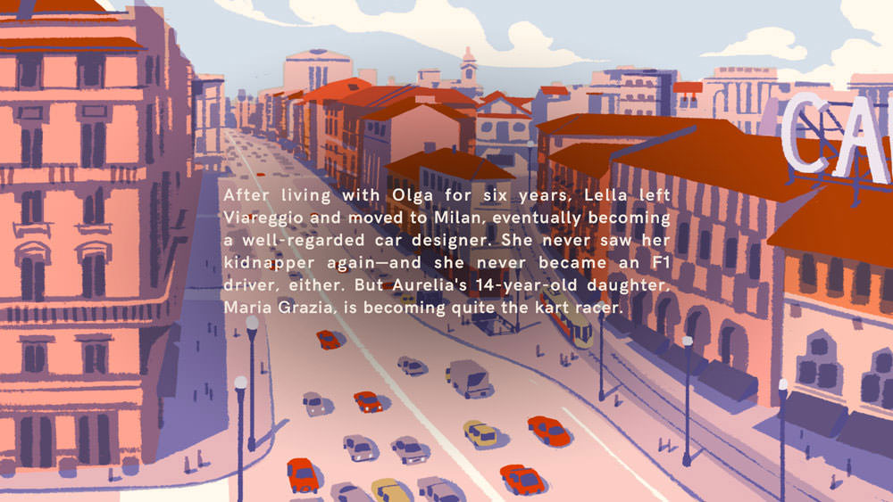 Wheels of Aurelia: fate